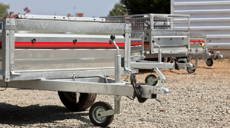 Galvanized Box Trailers